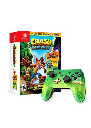 Crash Bandicoot N. Sane Trilogy + Control Switch